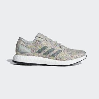 Pureboost Shoes Ash Silver / Raw Green / Shock Yellow AQ0051