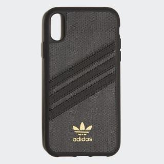 Coque moulée iPhone X 6.1 Black / Black CL4900