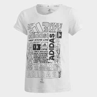 Camiseta YG TR IC TEE White / Black DV2769
