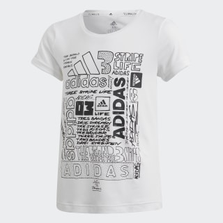 Iconic Tee White / Black DV2769