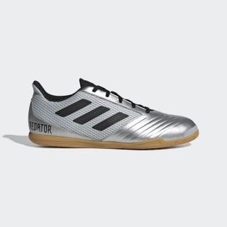 Chuteira Predator 19.4 Futsal Silver Metallic / Core Black / Hi-Res Red F35630