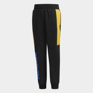 Pantalón LB FT KN PANT Black / Active Gold / Blue EH4049
