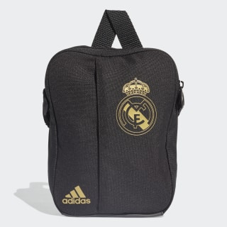 Real Madrid Organizer Tas Black / Dark Football Gold DY7718