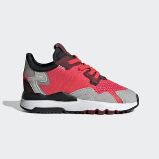Nite Jogger Shoes Shock Red / Shock Red / Grey Two EE6444
