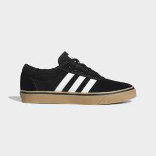 Adiease Schuh Core Black / Cloud White / Gum4 EE6107