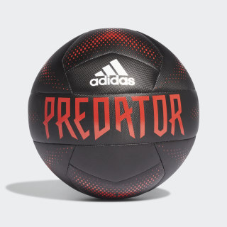 Bola de Treino Predator Black / Active Red / White FM2405
