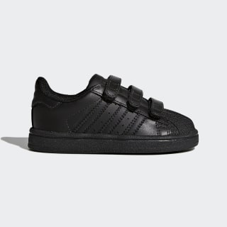 Кроссовки Superstar core black / core black / core black BZ0417
