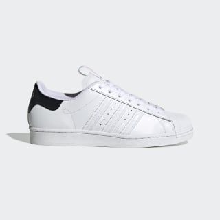 Superstar Schuh Cloud White / Core Black / Shock Pink FW2818