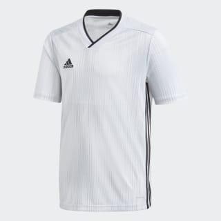 Camisa Tiro 19 white / black DP3182