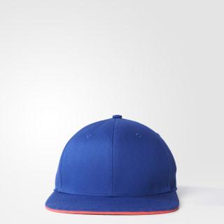 Casquette brodée adidas STELLASPORT Bold Blue/Flash Red AX8711