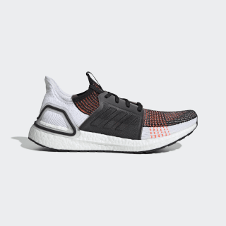 Scarpe Ultraboost 19 Core Black / Cloud White / Solar Orange G27519