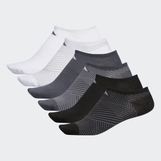 Superlite adiAngle No-Show Socks 6 Pairs Multicolor CL5683
