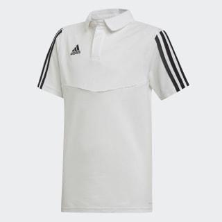 Футболка-поло Tiro 19 Cotton white / black DU0866