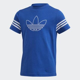 Camiseta Outline Team Royal Blue / White FM4451