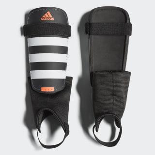 Everclub Shin Guards Black/White/Solar Red AP7030