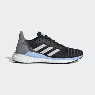 Tenis Solar Glide 19 Core Black / Grey One / Glow Blue G28038