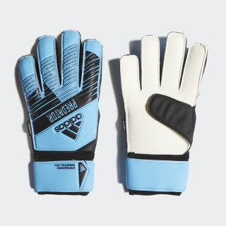 Predator Top Training Fingersave Gloves Bright Cyan / Black DY2607