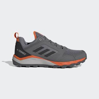 Tênis Terrex Agravic TR Trail Running Grey Three / Core Black / Orange EF6856
