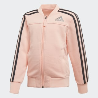 TRACK TOP LG PES COVER UP HAZE CORAL/CARBON S18/REFLECTIVE SILVER DJ1464