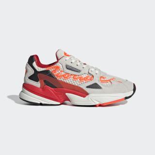 Fiorucci Falcon Shoes Beige / Red / Solar Orange G28914