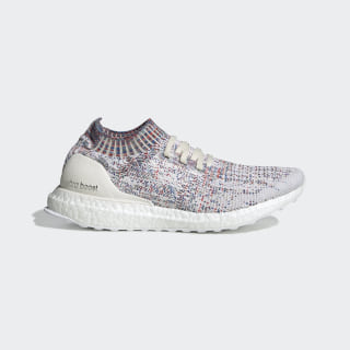 Ultraboost Uncaged Shoes Chalk White / Cloud White / Active Green B75860