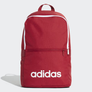 Linear Classic Daily Backpack Active Maroon / White / White ED0290