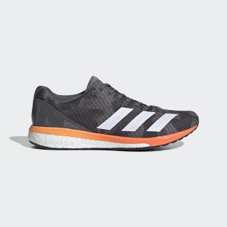 Кроссовки для бега Adizero Boston 8 grey four f17 / ftwr white / flash orange G28858