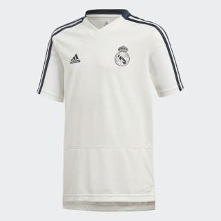 Maglia da allenamento Real Madrid Core White / Tech Onix CW8667