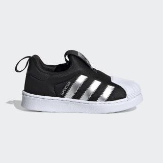 Superstar 360 Shoes Core Black / Silver Metallic / Cloud White EE6281