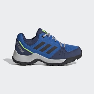 Zapatilla Terrex Hyperhiker Low Hiking Glory Blue / Core Black / Signal Green EE8494