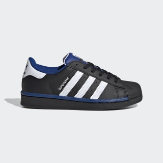 Chaussure Superstar Core Black / Cloud White / Collegiate Royal FV3663