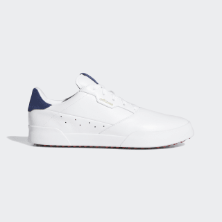 Adicross Retro Golf Shoes Cloud White / Silver Metallic / Tech Indigo EE9164