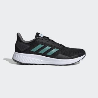 Duramo 9 Shoes Core Black / Active Green / Grey Four EE8029