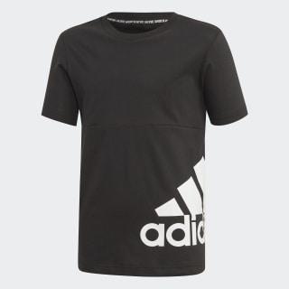 Tričko Must Haves Badge of Sport Black / White ED6464