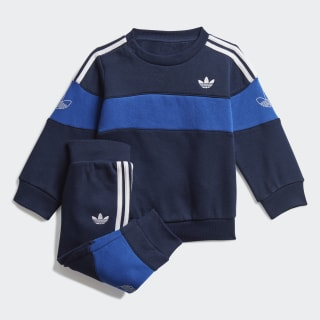 Bandrix Crew sæt Night Indigo / Team Royal Blue / White FM4447