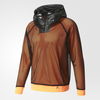 adidas by Kolor Climachill Hoodie Glow Orange BP6052