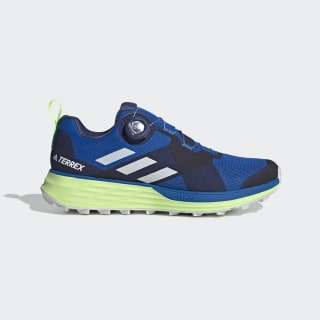 TERREX Two Boa Trailrunning-Schuh Glory Blue / Cloud White / Signal Green EF2137