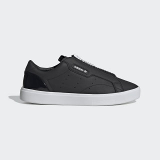 Tênis adidas Sleek Zip Core Black / Core Black / Crystal White EF0695