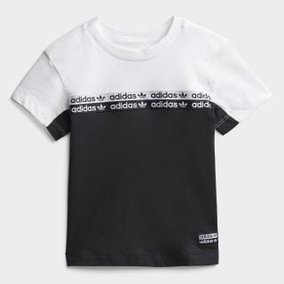 Tee Black / White FM5493