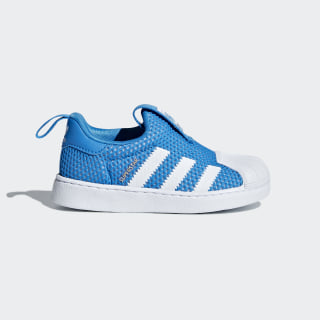 Tenis SUPERSTAR 360 I FTWR WHITE/FTWR WHITE/BRIGHT BLUE B37252