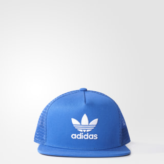GORRA ORIGINALS TREFOIL TRUCKER BLUE BK7303