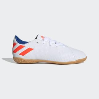 Chuteira Nemeziz Messi 19.4 Futsal ftwr white/solar red/football blue F99928