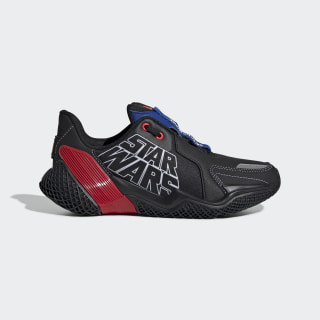 Star Wars 4UTURE Runner Shoes Core Black / Team Royal Blue / Solar Red EF9482