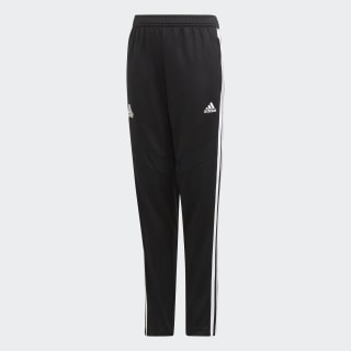TAN Training Tracksuit Bottoms Black / White EB9434