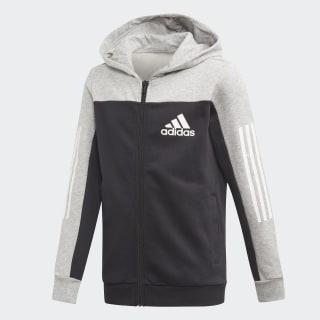 Sport ID Hoodie Medium Grey Heather / Black ED6516