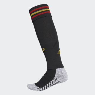 Spain Home Authentic Socks 1 Pair Black / Bold Gold / Red CW1028