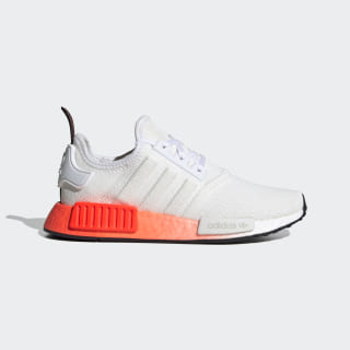 NMD_R1 Shoes Cloud White / Core Black / Solar Red EF5860