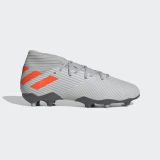 Calzado de Fútbol Nemeziz 19.3 Terreno Firme Grey Two / Solar Orange / Chalk White EF8302