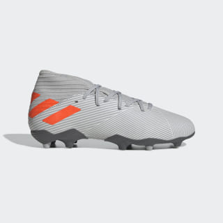 Nemeziz 19.3 Firm Ground Boots Grey Two / Solar Orange / Chalk White EF8302