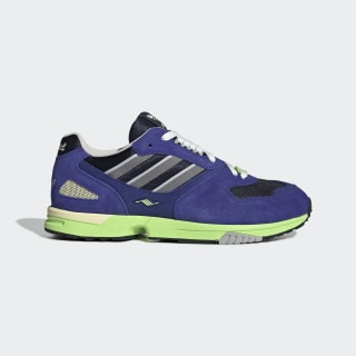 Chaussure ZX 4000 Active Blue / Grey Three / Real Purple EE4765